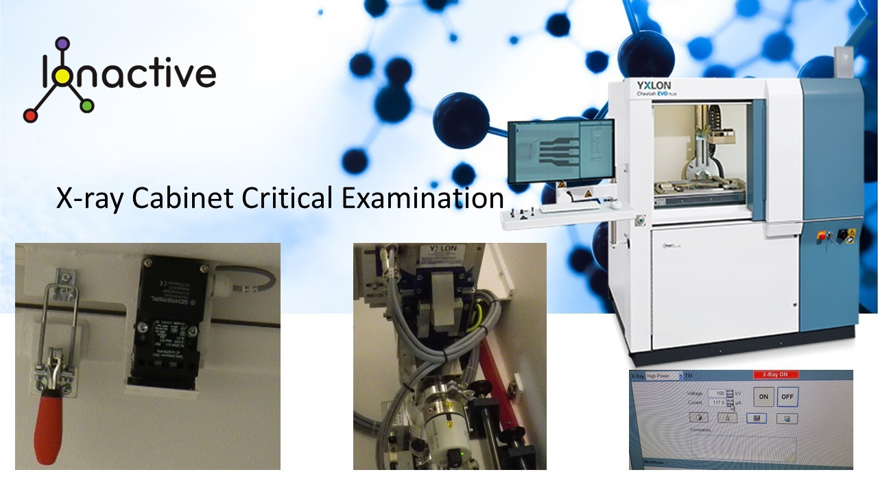 X-ray Cabinet Critical Examination - testing key features