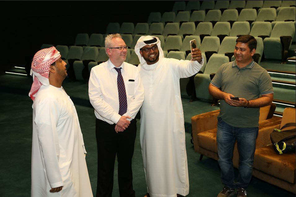 Mark Ramsay with RPO Delegates (UAE, January 2019)